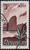 Réunion Obl. N° 272 - Détail De La Série émise En 1947 - 3f Brun-lilas Et Vert - Oblitérés