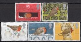 GREAT BRITAIN 1596-1600,unused,Christmas - Unused Stamps
