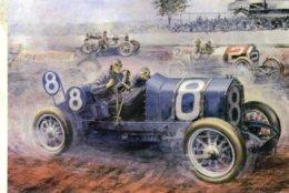 Grand Prix De France  -  Automotive Art Postcard - Carte Postale Modern - Grand Prix / F1