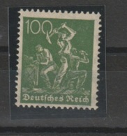 DR MNr. 187 C Postfrisch **/MNH.  Geprüft - Deutschland