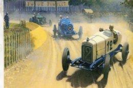 Grand Prix D'Italie  -  Automotive Art Postcard - Carte Postale Modern - Grand Prix / F1