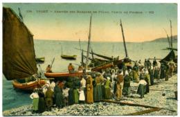 76 YPORT ++ Arrivée Des Barques De Pêche - Vente Du Poisson ++ - Yport