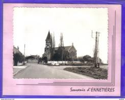 Carte Postale 59. Souvenir D'Ennetières  Très Beau Plan - France