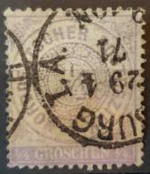 NORDDEUTSCHER POSTBEZIRK 1868 - Canceled - Mi 1 - 1/4g - North German Conf.