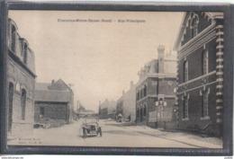 Carte Postale 59. Fontaine-Notre-Dame  Rue Principale  Voiture Ancienne Très Beau Plan - France