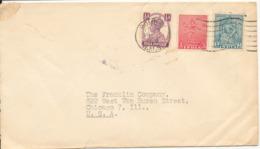 India Cover Sent To USA 11-4-1950 - 1950-59 Republic