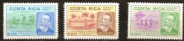 Costa Rica 1981 Yvertn° LP PA 812-814  *** MNH Heinrich Von Stephan - Costa Rica