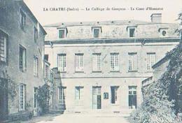 Indre        129        La Chatre.Le Collège Des Garçons.La Cour D'Honneur - La Chatre