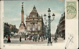 Bruxelles : Le Monument Anspach  Avant 1906 - Monuments