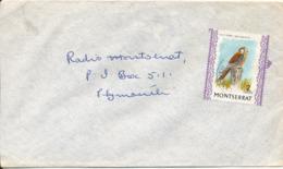 Montserrat Cover Single Franked Bird Of Prey - Montserrat
