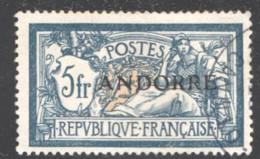 Merson 5 Fr.  Yv 21   Bon Centrage Petit Aminci - Oblitérés