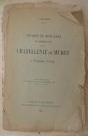 AFFAIRES DE MONTAUBAN ET COMMUNAUTÉS DE LA CHATELLERIE DE MURET À FROUZINS (1629) V. BAGNÉRIS 1905 - Midi-Pyrénées