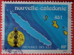 Nouvelle Calédonie Province Des Iles Poste 1991 - Usati