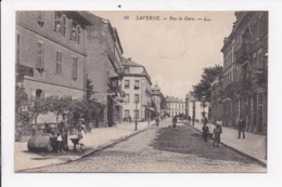 CP 67 SAVERNE Rue De La Gare - Saverne