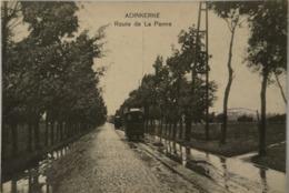Adinkerke - De Panne //Ed. Vve. Tallen. Route De La Panne (Tram A Vapeur - Stoomtram) 1915 Zeldzaam 1 - De Panne