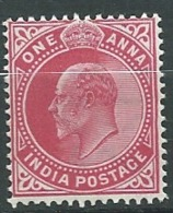 Inde Anglaise - Yvert N°  59 *  -  Ava 28105 - 1902-11 King Edward VII