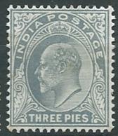 Inde Anglaise    - Yvert N° 57 *  -  Ava 28110 - 1902-11 King Edward VII
