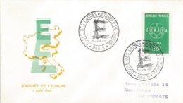 France 1960 Paris Ecole Des Cadres EUROPA CEPT Cover - 1960