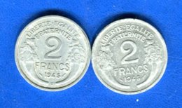 2 Fr  1945 C +1945 B - I. 2 Francs