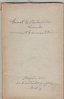 Carnet De Robespierre Trouvé Sur Lui Lors De Son Arrestation. Reproduction Par Héliographie, Procédé Motteroz. (17p.+17p - Historia