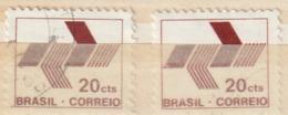 BRAZILIË / BRASIL - 1972 - 2x Scott Nr.1216 - Gebraucht/gestempeld/Oblit./Used - ° - Brésil