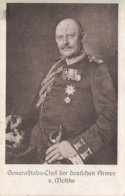 CARTE ALLEMANDE - GUERRE 14-18 - GENERAL VON MOLTKE - Guerra 1914-18