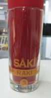 AC - SAKI RAKI 3 X FILTRATED/ DISTILLED GLASS FROM TURKEY - Altre Collezioni