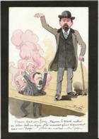 CPA Bobb Satirique Caricature Non Circulé Dessin Original Fait Main Politique Grève Des Postiers - Satirical