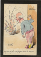 CPA Bobb Satirique Caricature Non Circulé Dessin Original Fait Main Politique Lorient Lens - Satirical