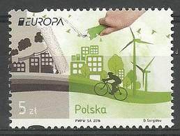 Poland 2016 Mi 4831 Fi 4681 MNH ( ZE4 PLD4831 ) - Pologne