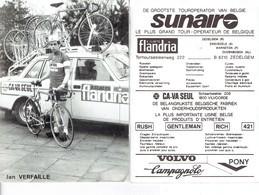 689 - CYCLISME - WIELRENNEN -  JAN VERFAILLE - Cyclisme