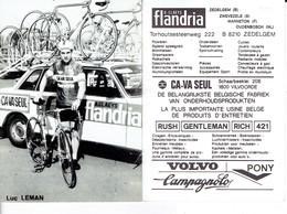 683 - CYCLISME - WIELRENNEN -  LEMAN LUC - Cyclisme