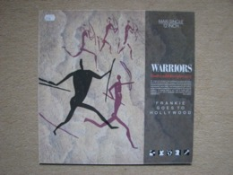 FRANKIE GOES TO HOLLYWOOD - WARRIORS (TWELVE WILD DISCIPLES MIX) (ISLAND 1986) - 45 Rpm - Maxi-Single