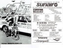 687 - CYCLISME - WIELRENNEN -  HERMAN VANDERSLAGMOLEN - Cyclisme