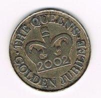 // PENNING  ELIZABETH II GOLDEN JUBILEE  2002 - Autres