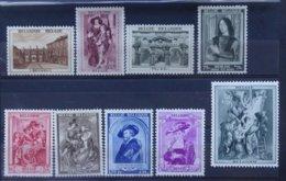 BELGIE  1939     Nr. 504 - 511 +  512     Postfris **    CW  154,00 - Belgique
