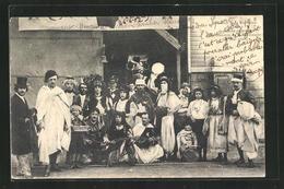 AK Sedan, Kermesse, Verkleidete Männner, 25 Mai 1902 - Cartoline