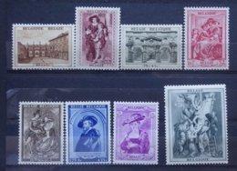 BELGIE  1939     Nr. 504 - 511    Scharnier *     CW  45,00 - Belgique