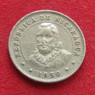 Nicaragua 25 Centavos 1950 KM# 18.1 - Nicaragua