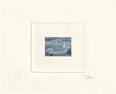 Monaco épreuve D'artiste Signé Par Le Graveur Du N° 1852 Mise En Service Du Seabus Sous Marin - Altri