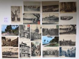 Lot De 20 Cartes Anciennes De GIEN - Loiret Lot N°5 - 5 - 99 Cartes