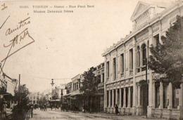 TONKIN - Hanoï - Rue Paul Bert - Maison Debeaux Frères - Viêt-Nam