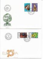 Europa - Cept. 1975- 76   2 Covers.Liectenstein.  H-885 - Europa-CEPT