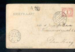 Eijsden - Langebalk - 1908 Mooie Stempel. - Marcophilie