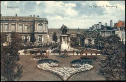 Bruxelles :  L Square D'Aremberg - Monuments, édifices