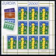 RC 13894 EUROPA 2000 IRLANDE BLOC FEUILLET NEUF ** MNH - 2000