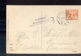 Bakhuizen - Langeablk - 1923 - Bekker Bodegraven - Marcophilie