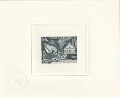 Monaco épreuve D'artiste Signé Par Le Graveur Du 1842 Et 1843 Croix Rouge Francaise - Monaco