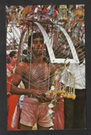 Singapour Carte Postale Kevada Carrying Hindu Devotee Singapore Postcard - Singapore