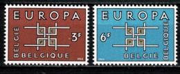 Belg. 1963 EUROPA OBP/COB 1260/61** MNH - Belgien